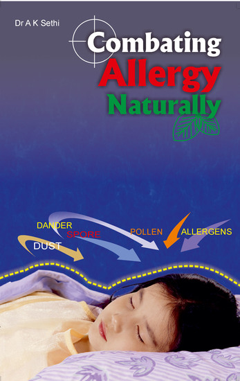 Combating Allergy Naturally - Control & manage without medicine - cover