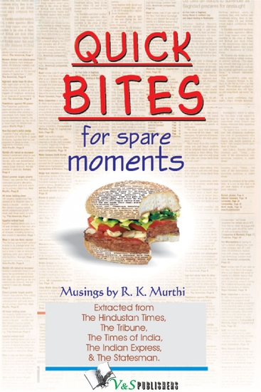 Quick Bites for Spare Moments - Management tips in a lighter vein - cover