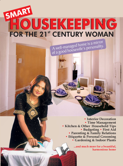 Smart Housekeeping - a well managed home is a mirror of a good housewife's personality - cover