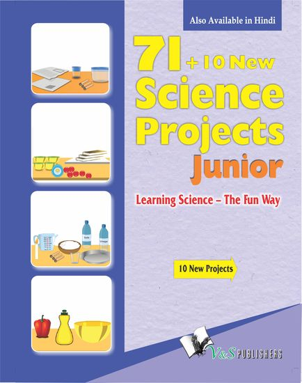 71+10 New Science Project Junior - Learning science - the fun way - cover