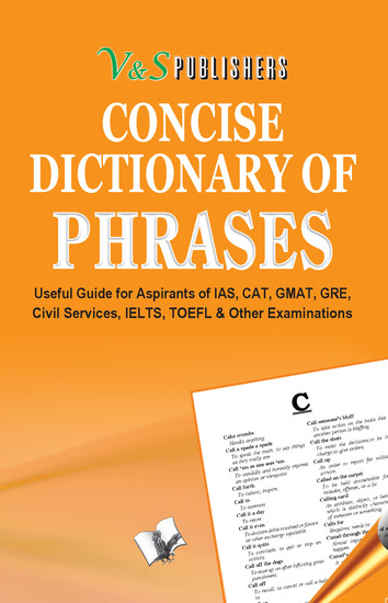 Concise Dictionary Of Phrases - Using Phrases to write attractive English - cover