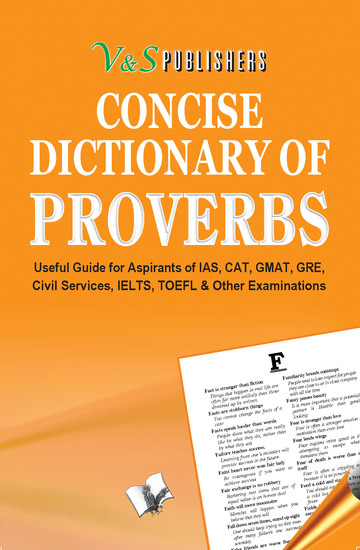 Concise Dictionary Of Proverbs - Making use of Proverbs to write attractive English - cover