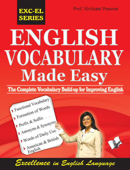 English Vocabulary Made Easy - The complete vocabulary build up for improving english - cover
