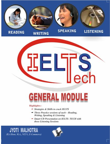 IELTS - General Module (Book - 4) - Ideas with probable questions that help score high in General Module - cover