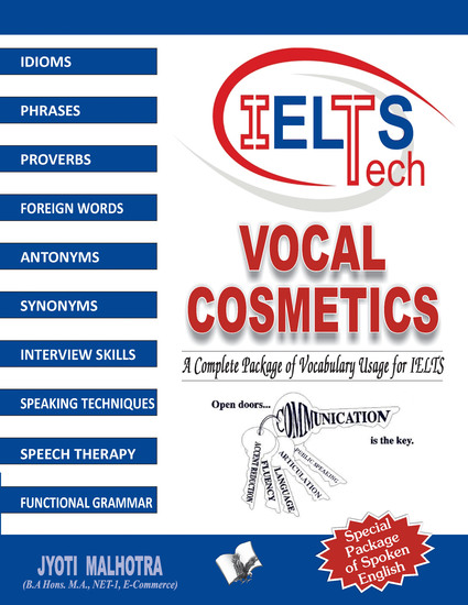 IELTS - Vocal Cosmetics (Book - 3) - Ideas with probable questions that help score high in Vocal Cosmetics - cover