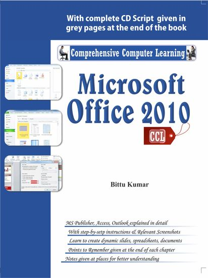 Microsoft Office 2010 - Enhanced design in the 'ribbon' interface _x000D_ Videos in PowerPoint _x000D_ improved Outlook _x000D_ Translation and screen capturing tools _x000D_ Faster system resources _x000D_ Share documents online in SkyDrive - cover