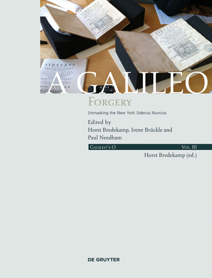 A Galileo Forgery - Unmasking the New York Sidereus Nuncius - cover