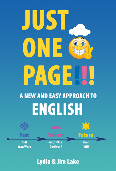 Just One Page - A New and Easy Approach to English - cover