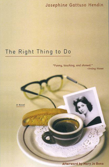 The Right Thing to Do - A Novel - cover