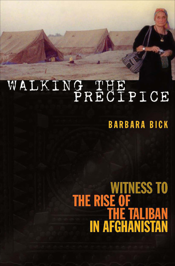 Walking the Precipice - Witness to the Rise of the Taliban in Afghanistan - cover