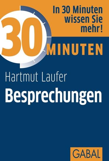 30 Minuten Besprechungen - cover