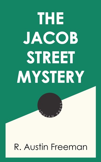 The Jacob Street Mystery - cover