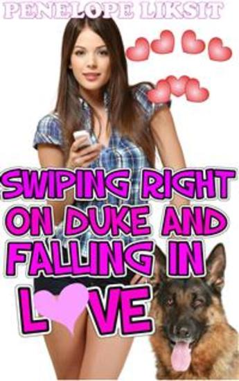 Swiping Right On Duke And Falling In Love - bestiality - cover