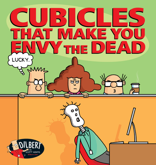 Cubicles That Make You Envy the Dead - cover