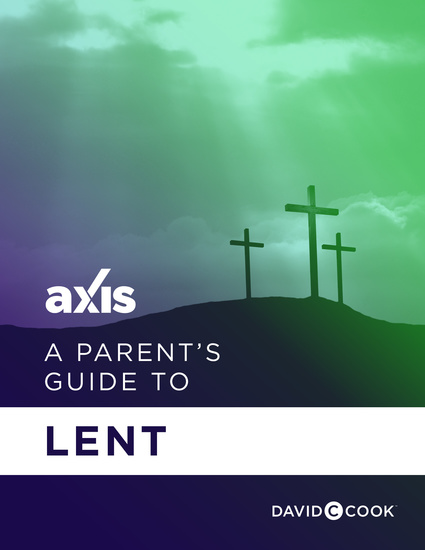 A Parent's Guide to Lent - cover