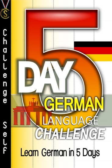 5-Day German Language Challenge - Learn German In 5 Days - cover