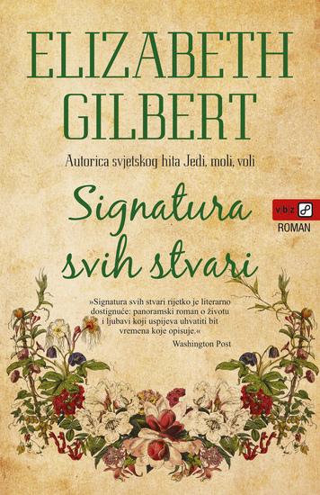 Signatura svih stvari - cover