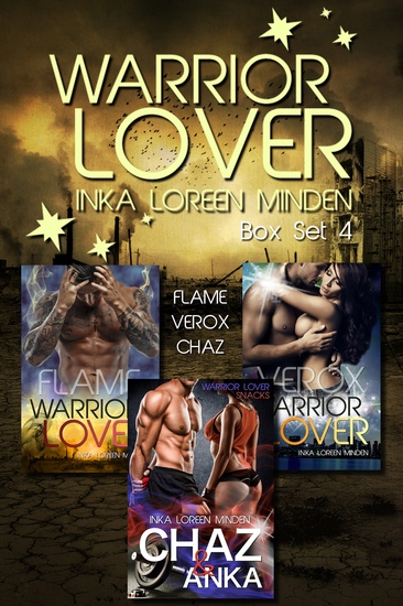 Warrior Lover Box Set 4 - Flame Verox Chaz - cover