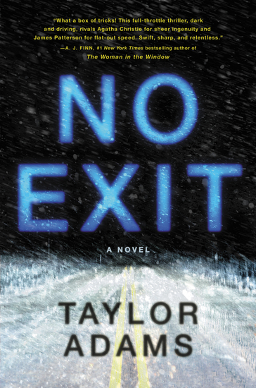 No Exit - A Novel - cover