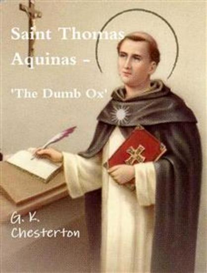 Saint Thomas Aquinas - cover