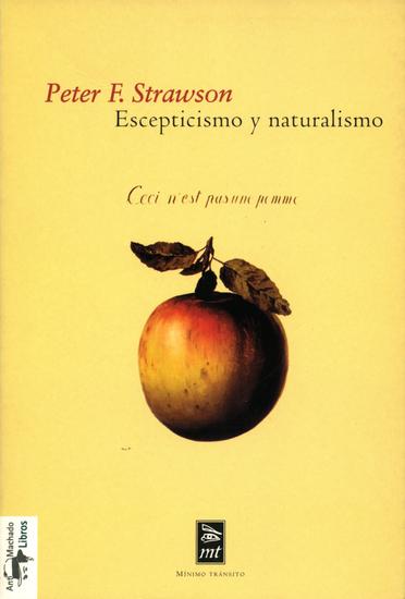Escepticismo y naturalismo - cover