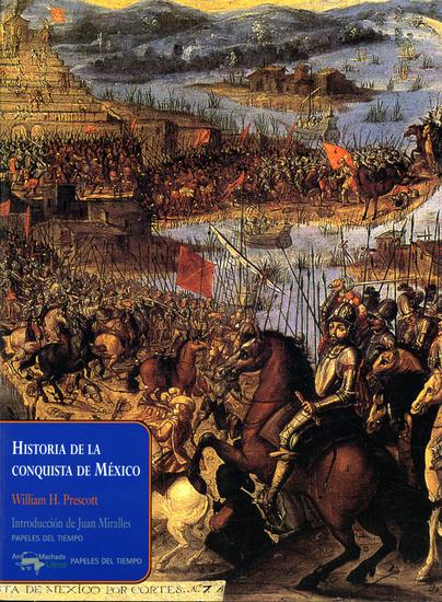 Historia de la conquista de México - cover