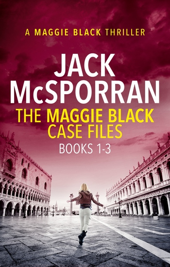The Maggie Black Case Files Books 1-3 - cover