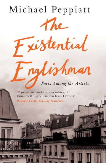 The Existential Englishman - Paris Among the Artists - cover