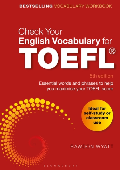 Check Your English Vocabulary for TOEFL - Essential words and phrases to help you maximise your TOEFL score - cover
