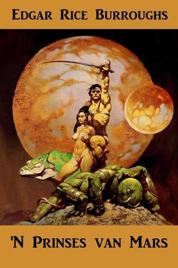 'N Prinses van Mars - A Princess of Mars Afrikaans edition - cover