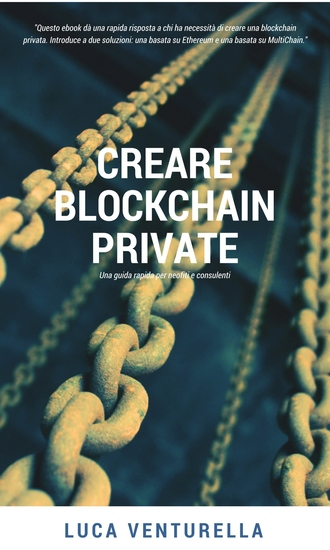 Creare blockchain private - cover