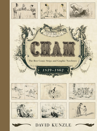 Cham - The Best Comic Strips and Graphic Novelettes 1839–1862 - cover