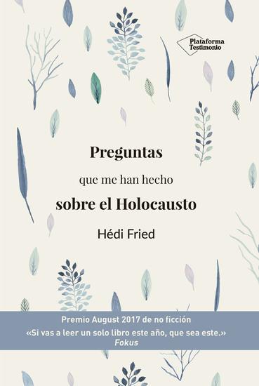 Preguntas que me han hecho sobre el Holocausto - cover