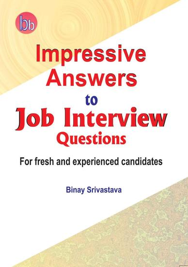 Impressive Answers to Job Interview Questions - cover