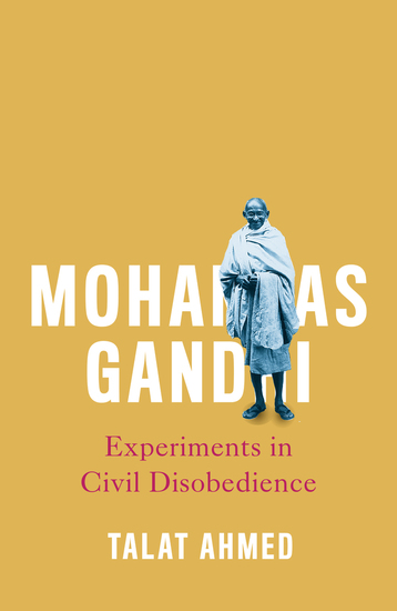 Mohandas Gandhi - Experiments in Civil Disobedience - cover