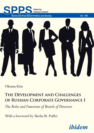 The Development and Challenges of Russian Corporate Governance I - The Roles and Functions of Boards of Directors - cover