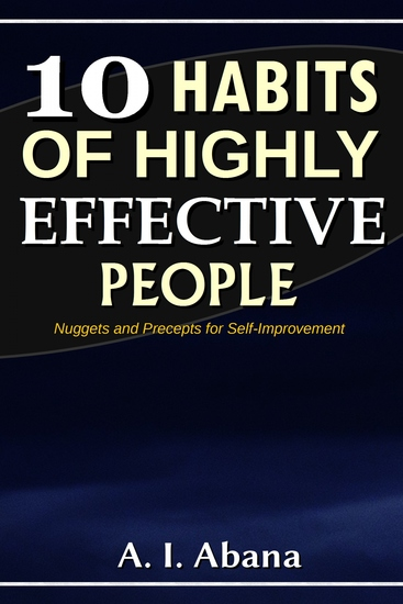 10 Habits of Highly Effective People - cover