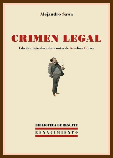 Crimen legal - cover