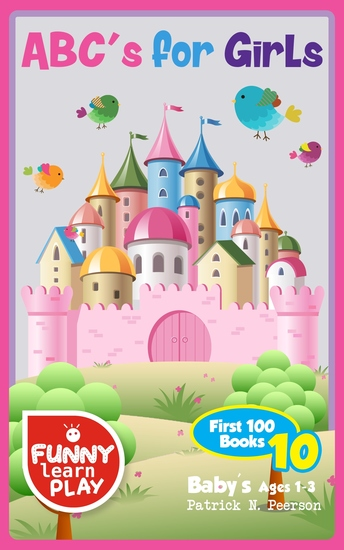 ABC's for Girls - Baby's Ages 1-3 - cover