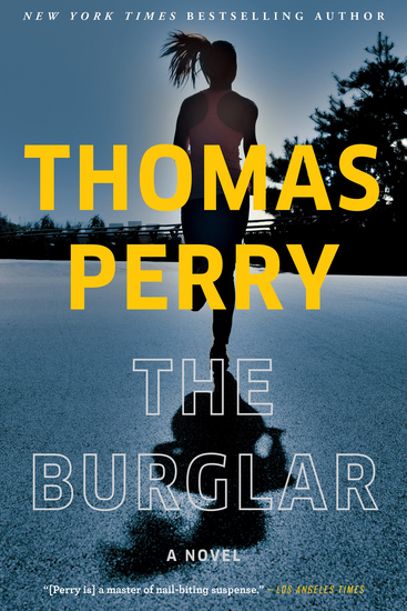 The Burglar - A Novel - cover