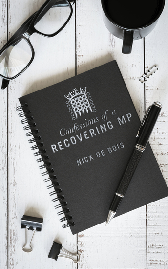 Confessions of A Recovering MP - cover