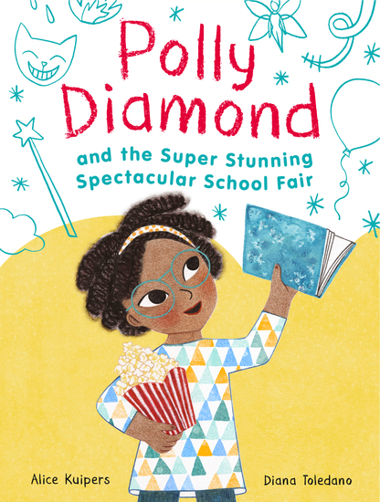 Polly Diamond and the Super Stunning Spectacular School Fair - Book 2 - cover