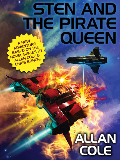 Sten and the Pirate Queen - cover