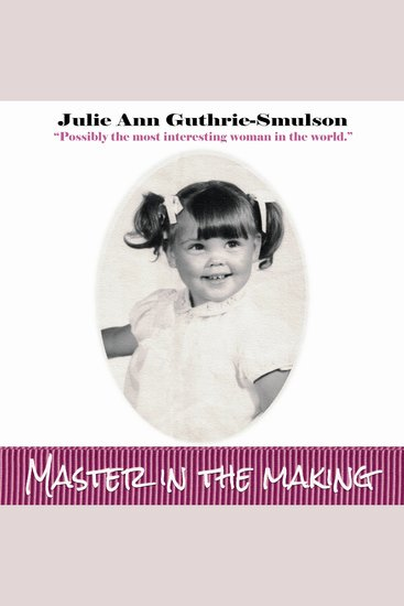 Master In The Making - cover