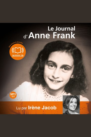 Le journal d'Anne Frank - cover