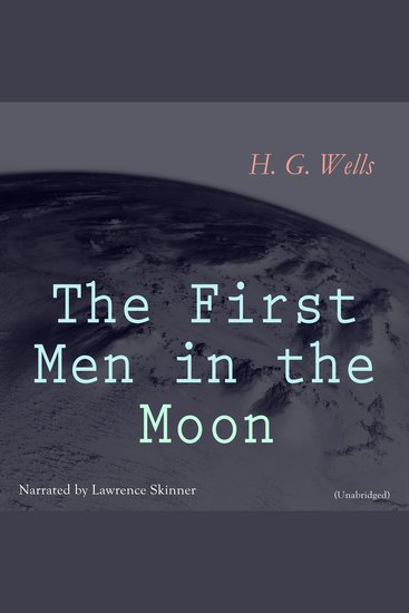 The First Men in the Moon - cover