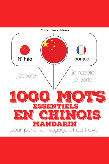 1000 mots essentiels en chinois - mandarin - cover