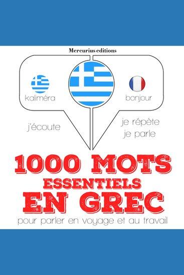 1000 mots essentiels en grec - cover