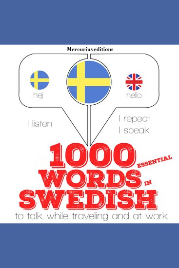 1000 essential words in Swedish - cover
