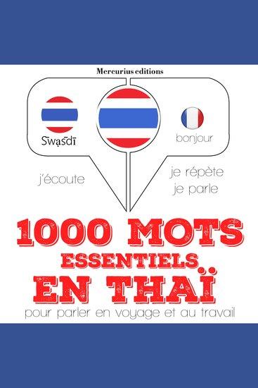 1000 mots essentiels en thaï - cover